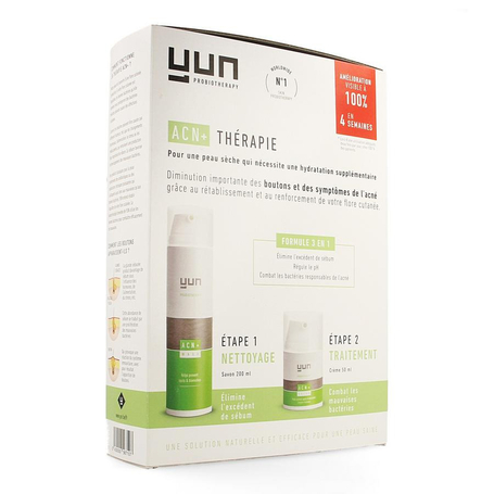 Yun ACN+ Therapie tegen acné voor gevoelige huid 2st