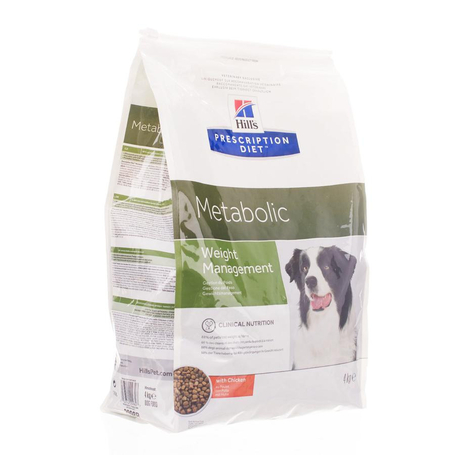 Prescription diet canine metabolic 4kg