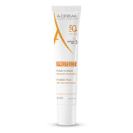 A-Derma Solaire Protect fluide invisible SPF50+ 40ml