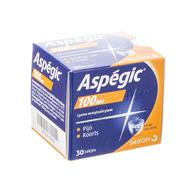 Aspegic 100 pulv 30x 100mg