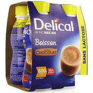 Delical HP HC max 300 chocolade 4x300ml