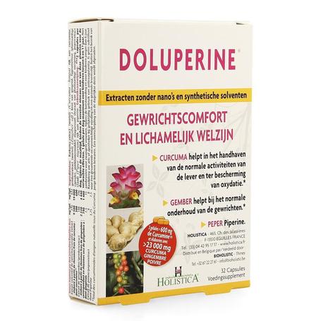 Bioholistic Doluperine voedingssupplement capsules 32st