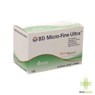 Bd microfine ultra aig. stylo 4mm 32g easyflow 100