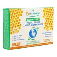 Puressentiel Ademhaling Tabletten met 3 Honingsmaken 1st