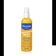 Mustela Zonnemelk baby/kind heel hoge bescherming SPF50+ 200ml