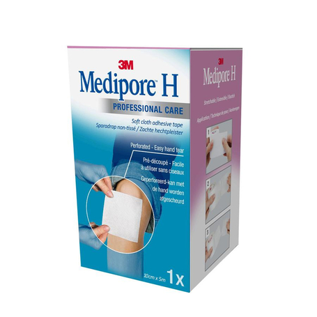 3M Medipore H perforated 10cmx5m rol 1st