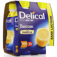 Delical HP HC max 300 vanille 4x300ml