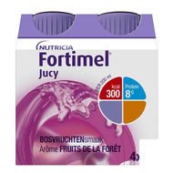 Fortimel Jucy arôme fruits foret 4x200ml