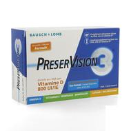 PreserVision 3 + Vit D3 capsules 60st