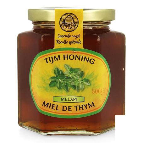 Melapi honing tijm zacht 500g 5533