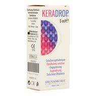 Keradrop sol ophtalm . fl 5ml