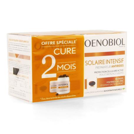 Oenobiol Solaire intensif anti-rimpels capsules 60st