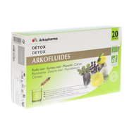 Arkofluide Detox ampullen 20x15ml