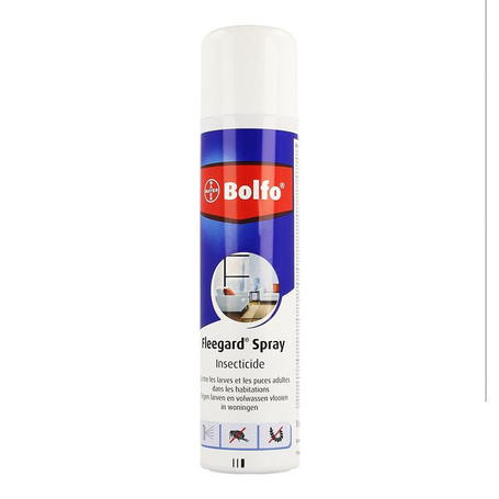 Bolfo Fleegard contre larves et puces spray 250ml
