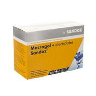 Macrogol + electr sandoz pulv gout citron 20x13,7g