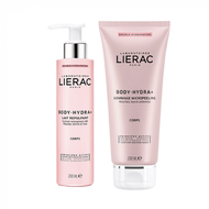 Lierac Duo Body gommage hydratant 200ml + lait hydratant 200ml