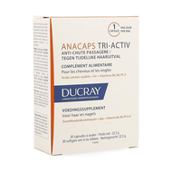Ducray anacaps tri-activ a/chute passagere caps 30