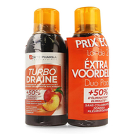 Fortepharma Turbo draine perzik duo 2x 500ml