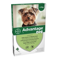 Advantage Dog 40 Chiens <4kg 4x0,4ml
