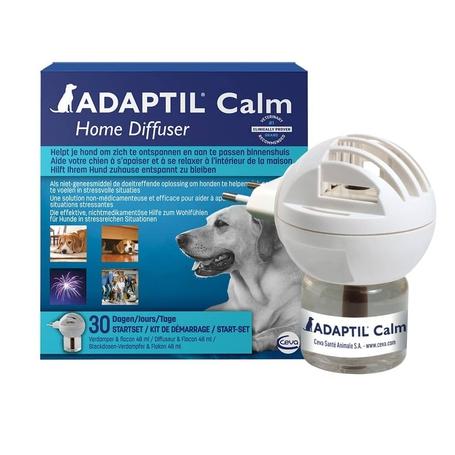 Adaptil Calm startset verdamper + navulling 30 dagen flacon 48ml