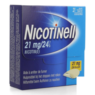 Nicotinell 21mg/24u pleister transdermaal 21st
