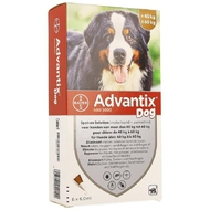 Advantix dog spot-on opl hond 40-60kg pipet 6x6ml