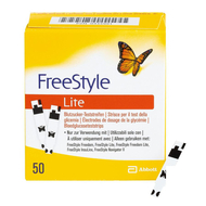 Freestyle lite 50 tigettes