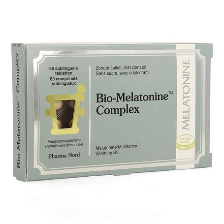 Pharma Nord Bio-melatonine Complex hormone du sommeil comprimés 60pc