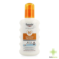 Eucerin Kids Sun Spray Sensitive Protect SPF50+ 200ml
