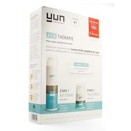 Yun ACN Therapy Crème + Wasgel tegen acné normale tot vette huid 2st