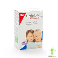Opticlude 3m oogkompres stand 82mmx57mm 20 1539