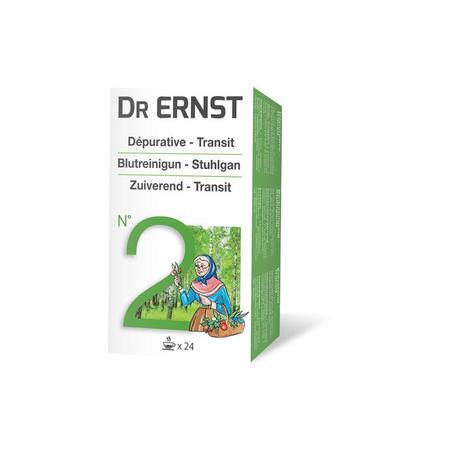 Dr Ernst n° 2 Bloedzuiverende thee 24st