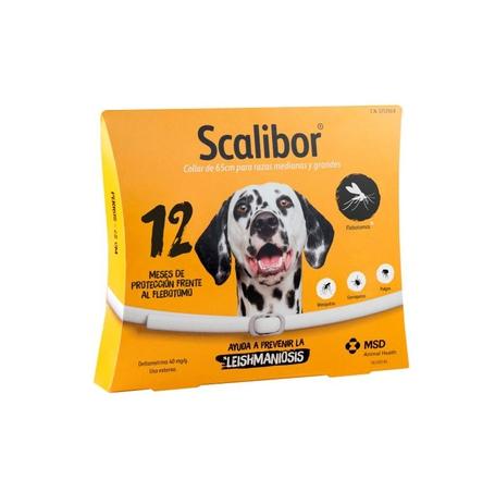 Scalibor Antiparasitaire halsband hond 65cm