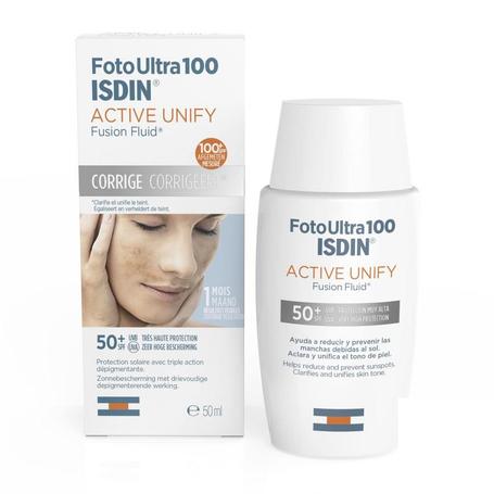 Isdin FotoUltra Active Unify pigmentvlekken fluid SPF50+ 50ml