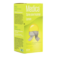 Medica spray pour la gorge lemon 30ml