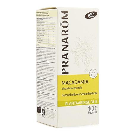 Pranarom Huile Végétale Macadamia  50ml