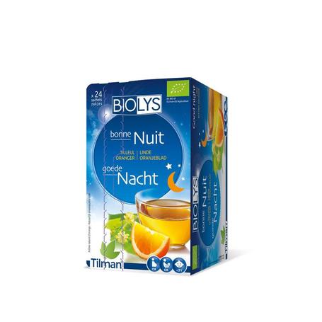 Biolys tilleul oranger sach 24