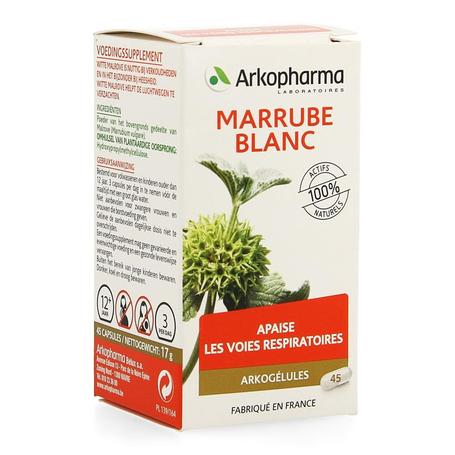 Arkogelules Marrube blanc végétal 45pc