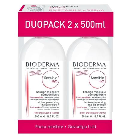 Bioderma Sensibio H20 2x500ml