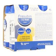 Fresubin 3,2kcal Drink Vanille karamel 4x125ml