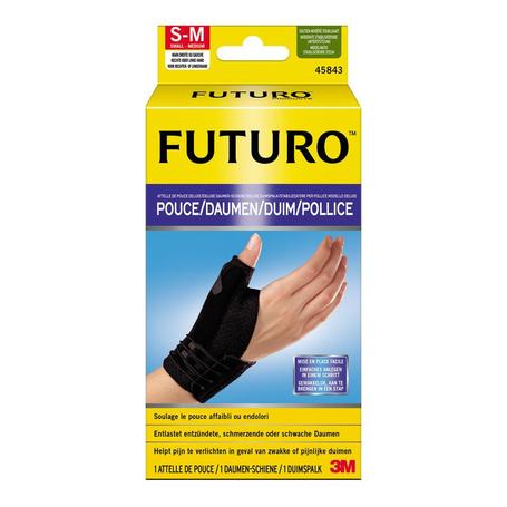 Futuro Attelle pouce deluxe noir S/M 12,7-16,5cm
