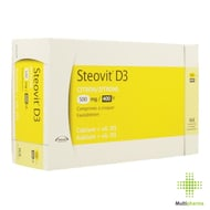 Steovit d3 500mg/400ie comp 168