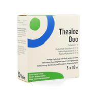 Thealoz duo oogdruppels tripack 3x10ml