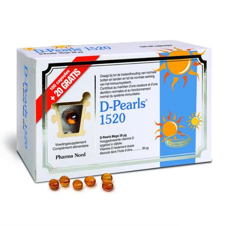 D-pearls 1520 capsules 100+20pc