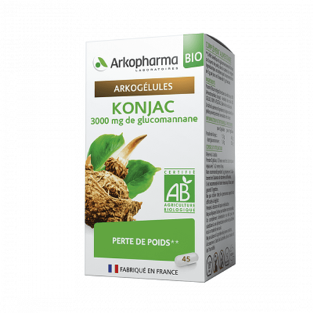 Arkogelules Konjac Bio 45caps