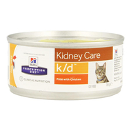 Hills prescrip.diet feline kd minced 156g 9453g