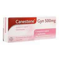 Canestene Gyn 500mg  tablet vaginaal gebruik 1st