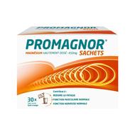 Promagnor: magnésium hautement dosé 450mg (30 sachets)