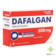 Dafalgan 500mg tablet 20st
