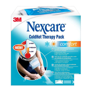 Nexcare Coldhot therapy pack comfort zonetemperatuur, 260 mm x 110 mm